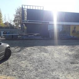 Prekybos paskirties pastatas, Geležinkelio g. 38, Lentvaris, traku raj. sav