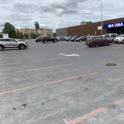Prekybos paskirties pastato statyba esančio Vilniaus r. sav., Avižienių sen., Užubalių k., Saulės g. 1