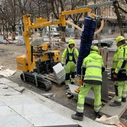 Probst savaeigis vikšrinis griebtuvas TRANSMOBIL TM-150-D-A-XL